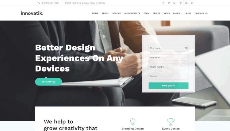 35+ Best Page Builder by SiteOrigin WordPress Themes 2018 - Theme Junkie