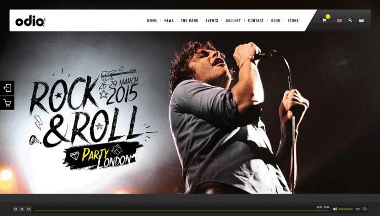 15+ Best WordPress Themes For Musicians & Performers 2018 - Theme Junkie