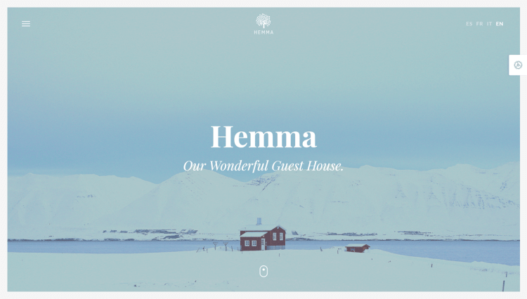 Hemma - Holiday Accommodation Multilingual WordPress Theme