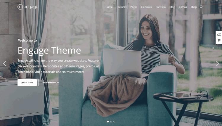 Engage - Stylish Multi-Purpose Multilingual WordPress Theme
