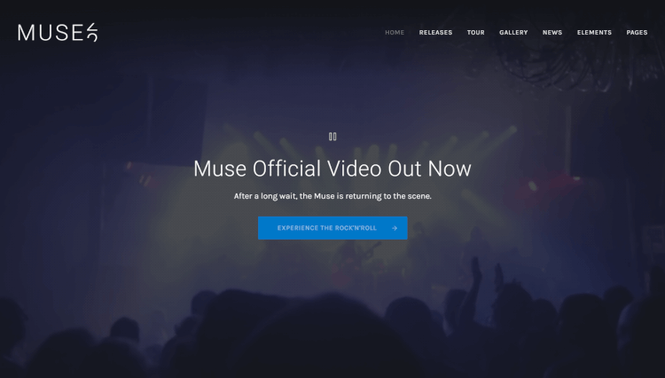 Muse - Flexible Multi-Purpose DJ WordPress Theme
