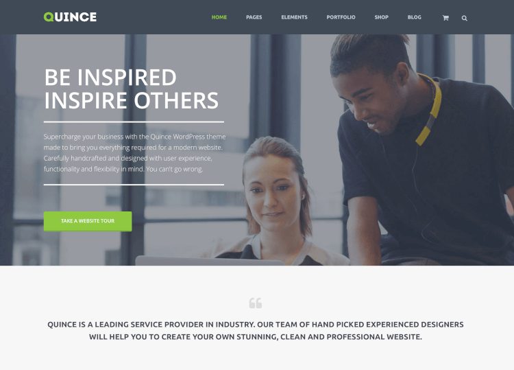 Quince - Modern Business RTL Theme