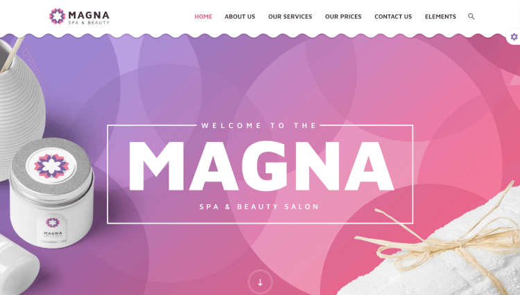 Magna - Beauty Spa and Hair Salon WordPress Theme