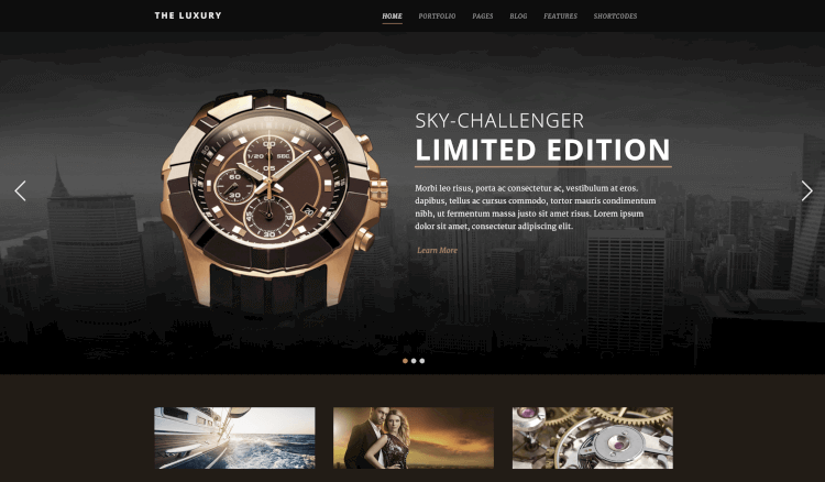 The Luxury - Responsive WordPress Theme