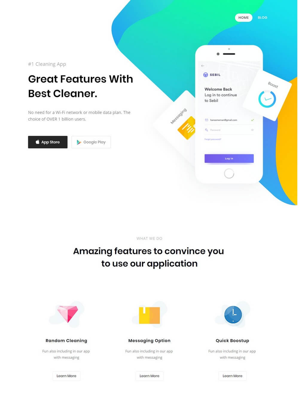 Aprimo - App Landing Visual Composer WordPress Theme