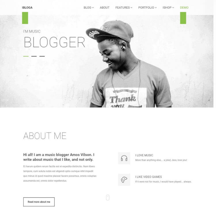 25+ Best WordPress Themes for Writers & Authors - Theme Junkie