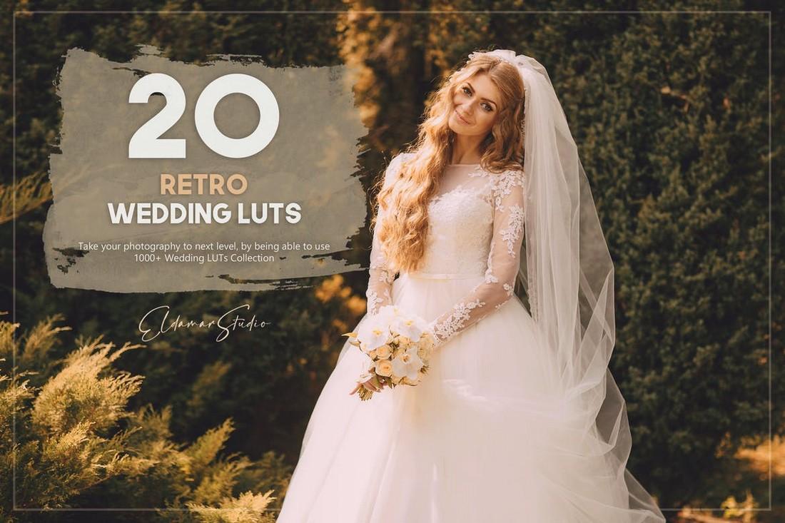 20 Paket LUTs Lightroom Pernikahan Retro