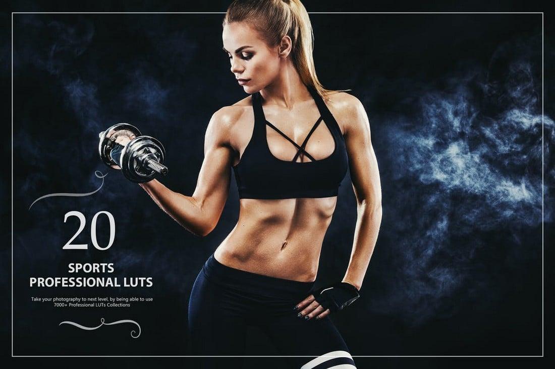 20 LUT Olahraga untuk Photoshop & Lightroom