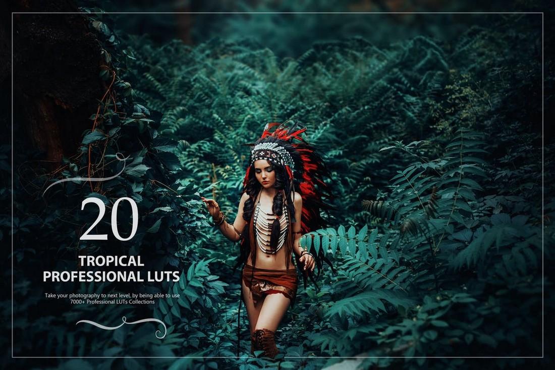 20 Paket LUTs Lightroom Tropis