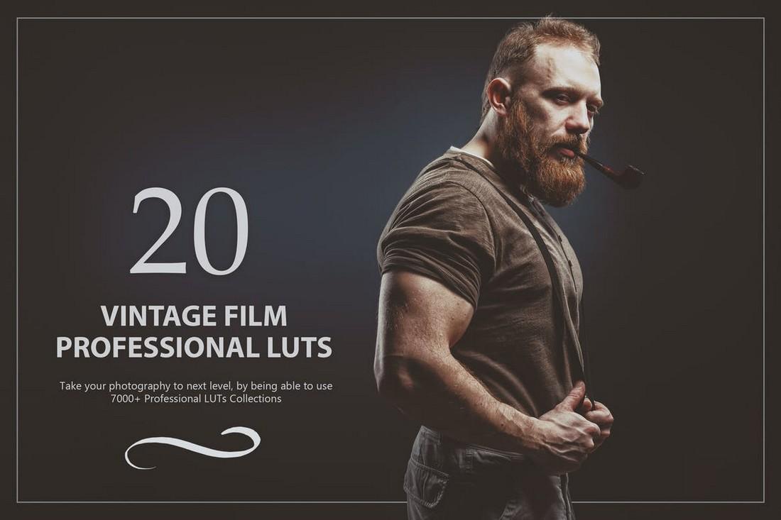20 Paket LUTs Lightroom Film Vintage