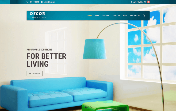 Decor - Interior & Furniture WooCommerce Theme