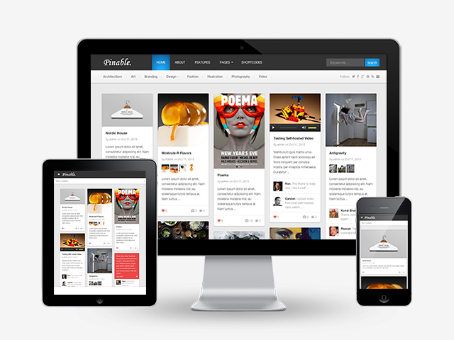 pinable-wordpress-theme