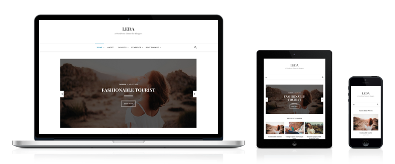 Leda - A Minimal WordPress Blog Theme - Theme Junkie