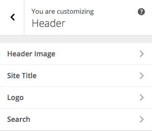 Posty Customizer Header