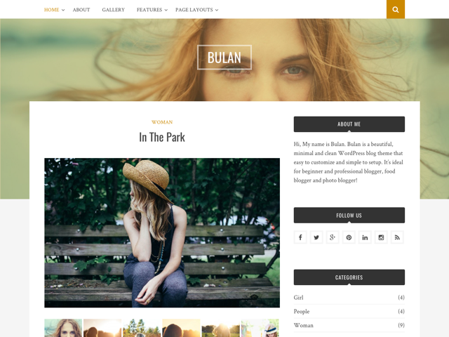 Free WordPress Theme: Bulan - Theme Junkie
