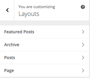 PostBoard Customizer Layouts