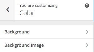 SiteBox Customizer Color