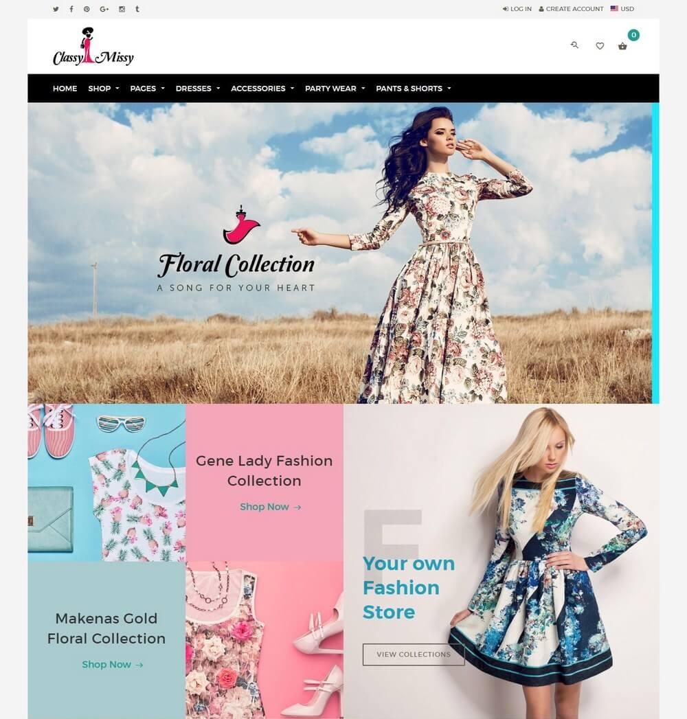 18+ Best Fashion & Clothing Shopify Themes - Theme Junkie