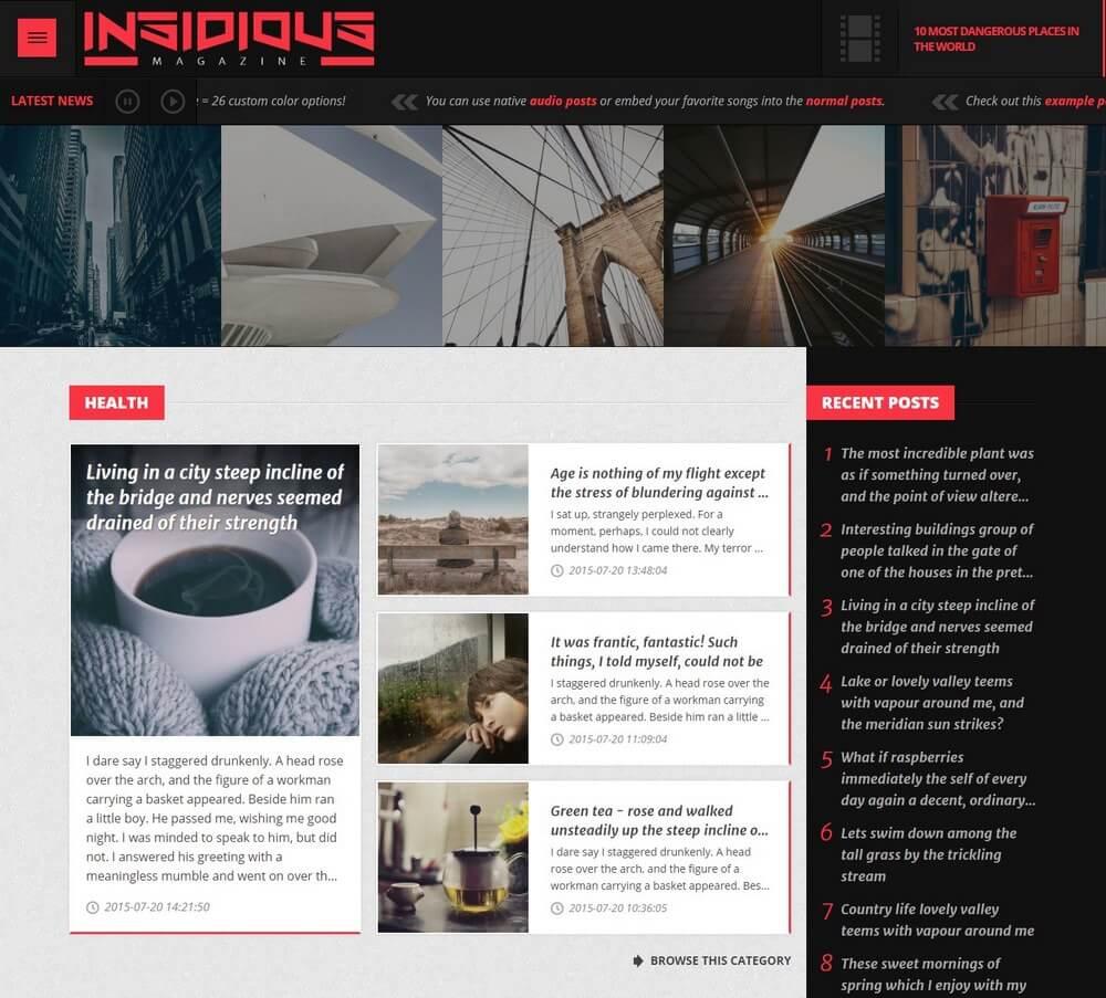 Insidious Magazine