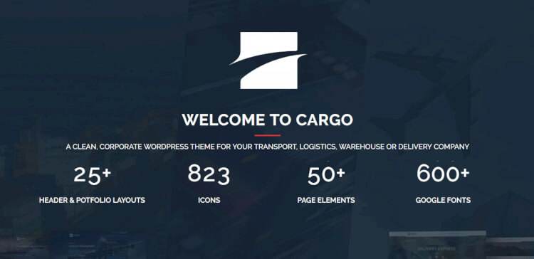 Cargo – Transport and Logistics Business Theme