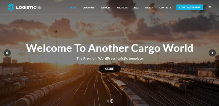 Logistic69 - Transportation and Logistics Business Theme