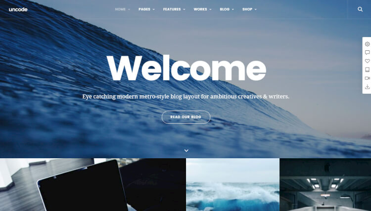Uncode - Creative Multi-use WordPress Theme