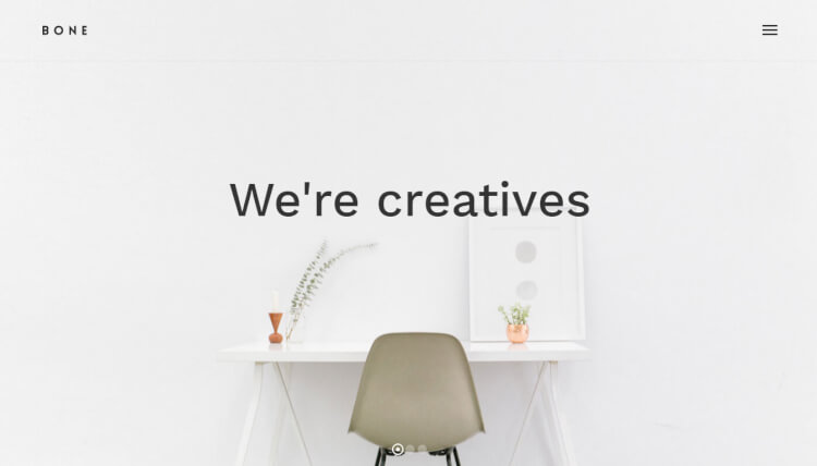 Bone - Creative Agency Portfolio WordPress Theme