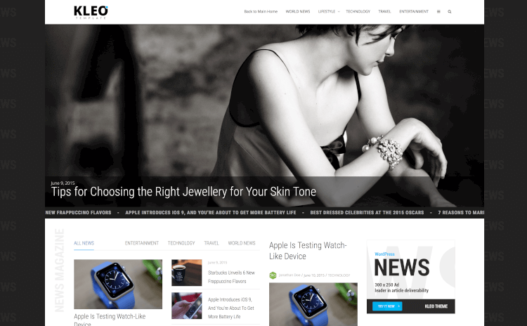 KLEO – Next level WordPress Theme