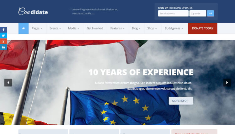 How To Design A Great Political Campaign Website