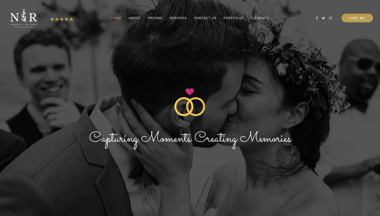 25 Wedding Photography Wordpress Themes Free Premium Theme Junkie