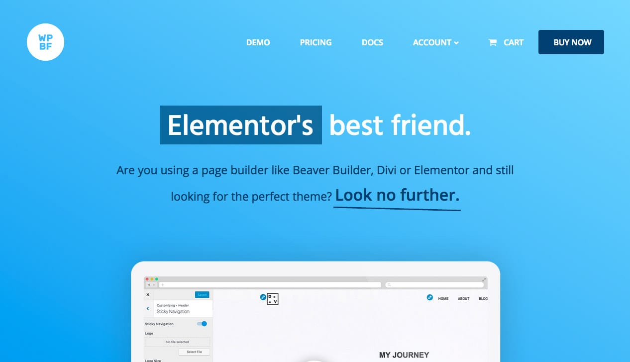 The Page Builder Framework for WordPress