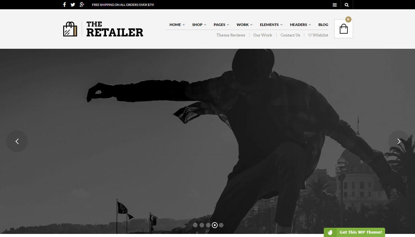 The Retailer - Visual Composer Ecommerce WordPress Theme