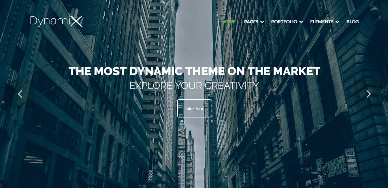 DynamiX - Corporate Visual Composer WordPress Theme