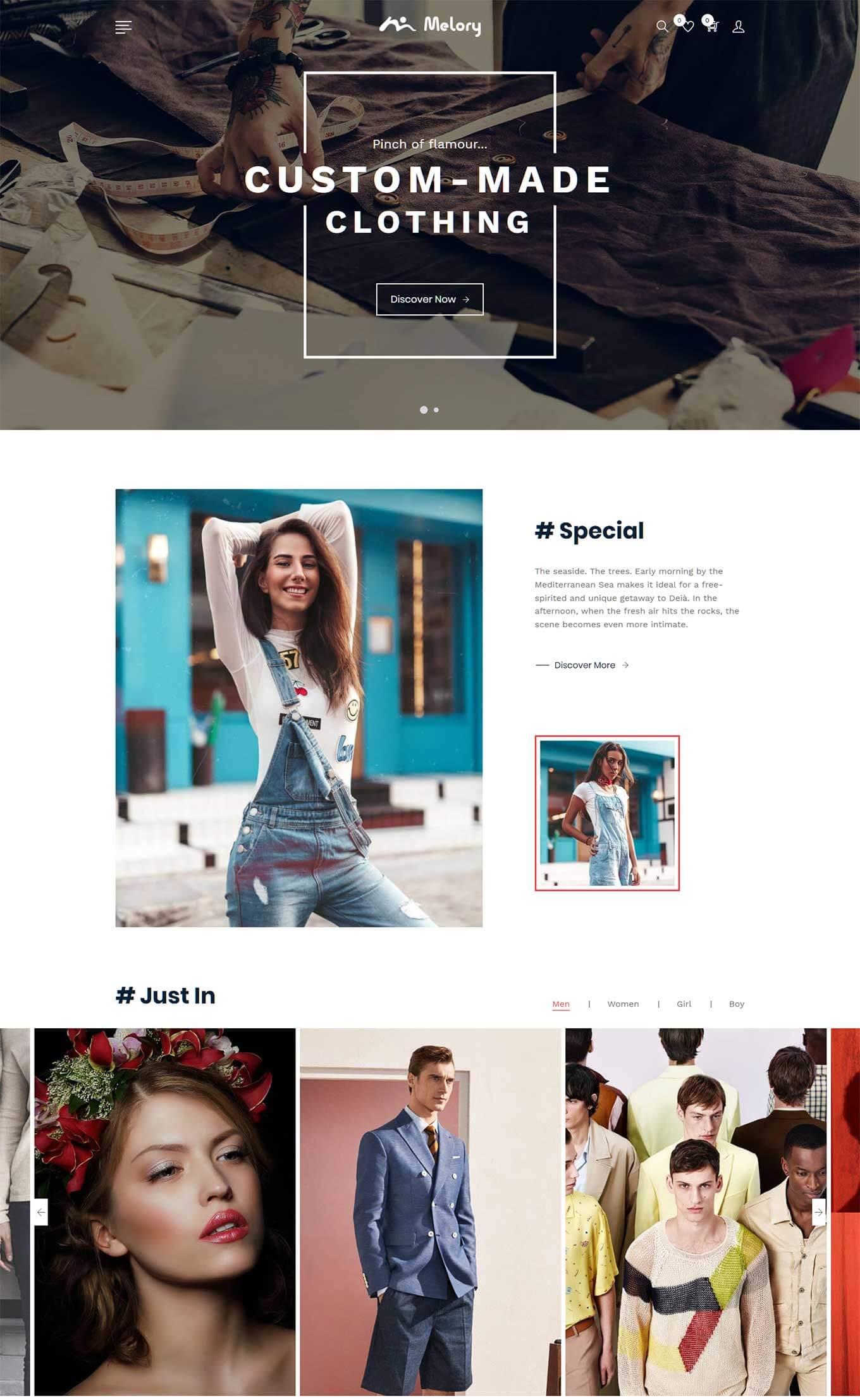 15+ Best Shopify Parallax Themes 2019 - Theme Junkie