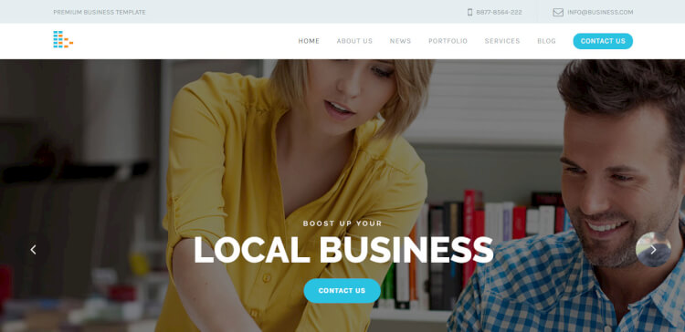 bPlus - Business and Consultancy WordPress Theme
