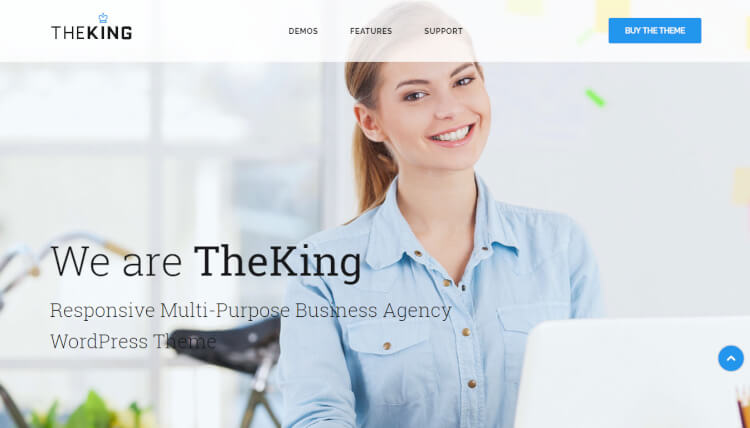The King - Multi-purpose Consulting WordPress Theme