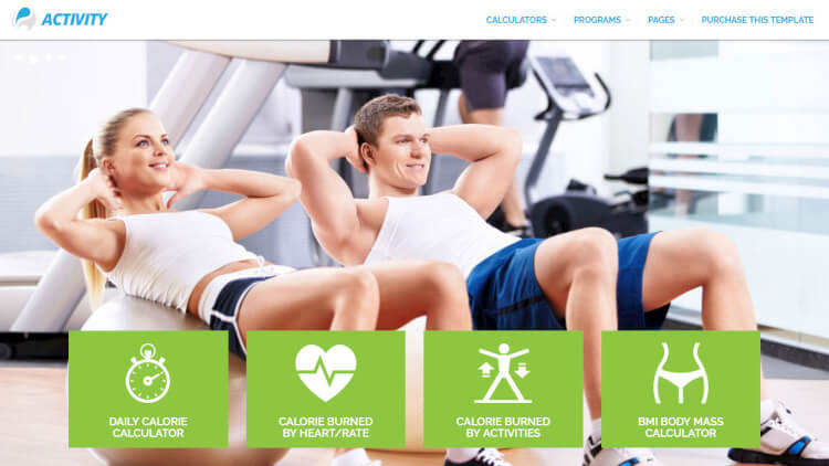 Activity - Sport and Gym WordPress Theme