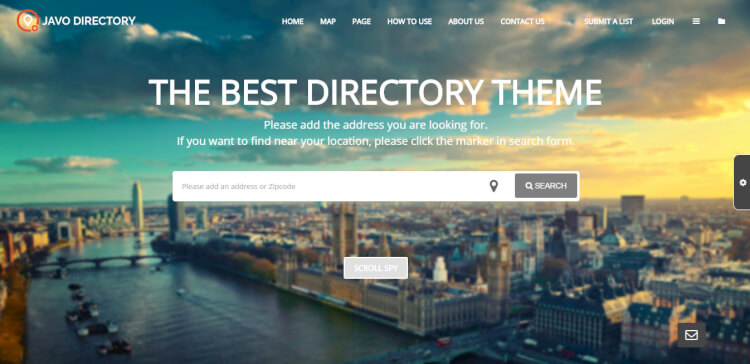 Javo - Directory WordPress Theme
