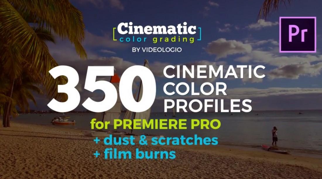 350 Cinematic Premiere Pro LUT