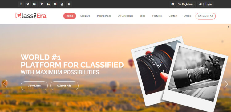 Classiera - Classified and Directory WordPress Theme