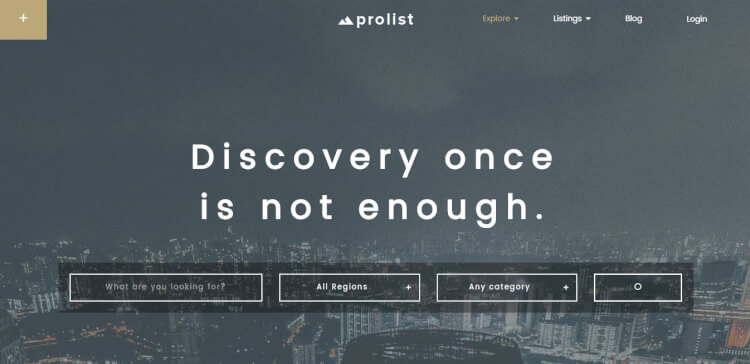 ProList - Elegant Directory and Classifieds WordPress Theme