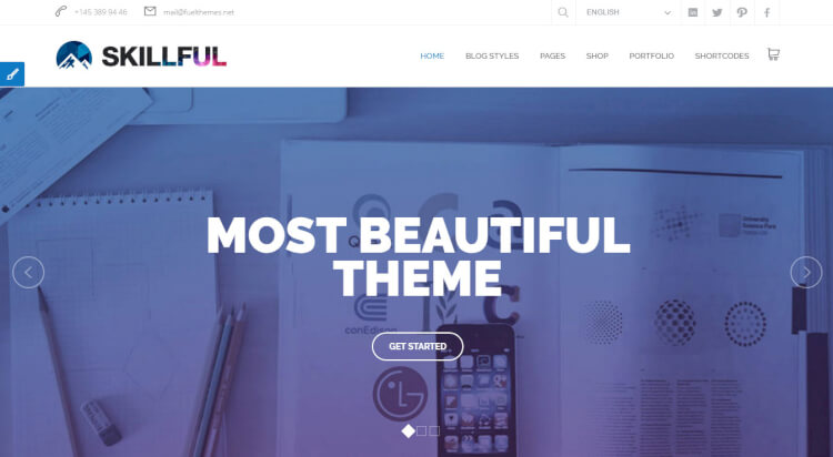 Skillful - Multi-purpose SEO Optimised Theme