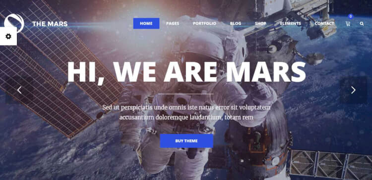 The Mars - Flexible SEO Optimised WordPress Theme