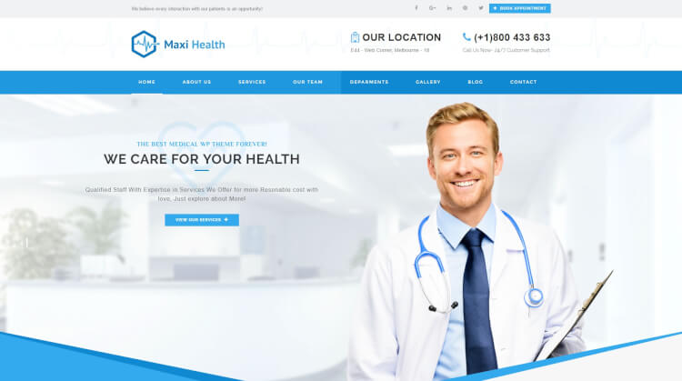health template wordpress  30+ Best Health WordPress Themes 2018 - Theme Junkie