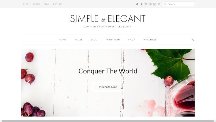 32 best simple clean wordpress blog themes 2018 theme junkie