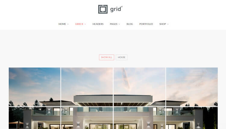 grid themes