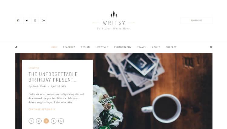 30+ Best Vintage WordPress Themes 2018 - Theme Junkie