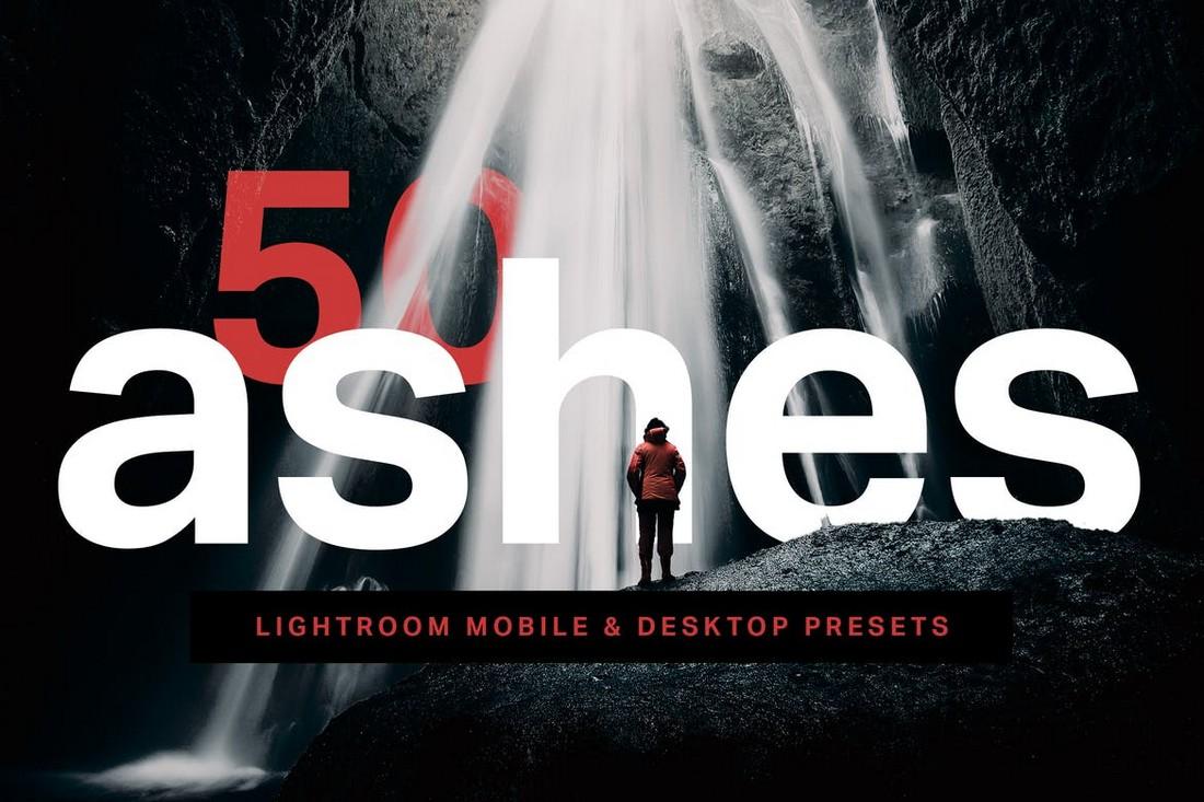 50 Ashes Lightroom Preset & Photoshop LUTs