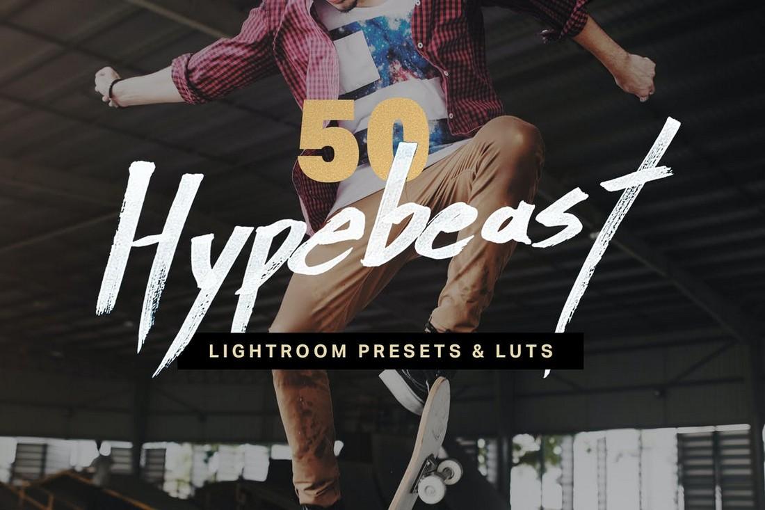 50 LUT & Preset Hypebeast Lightroom