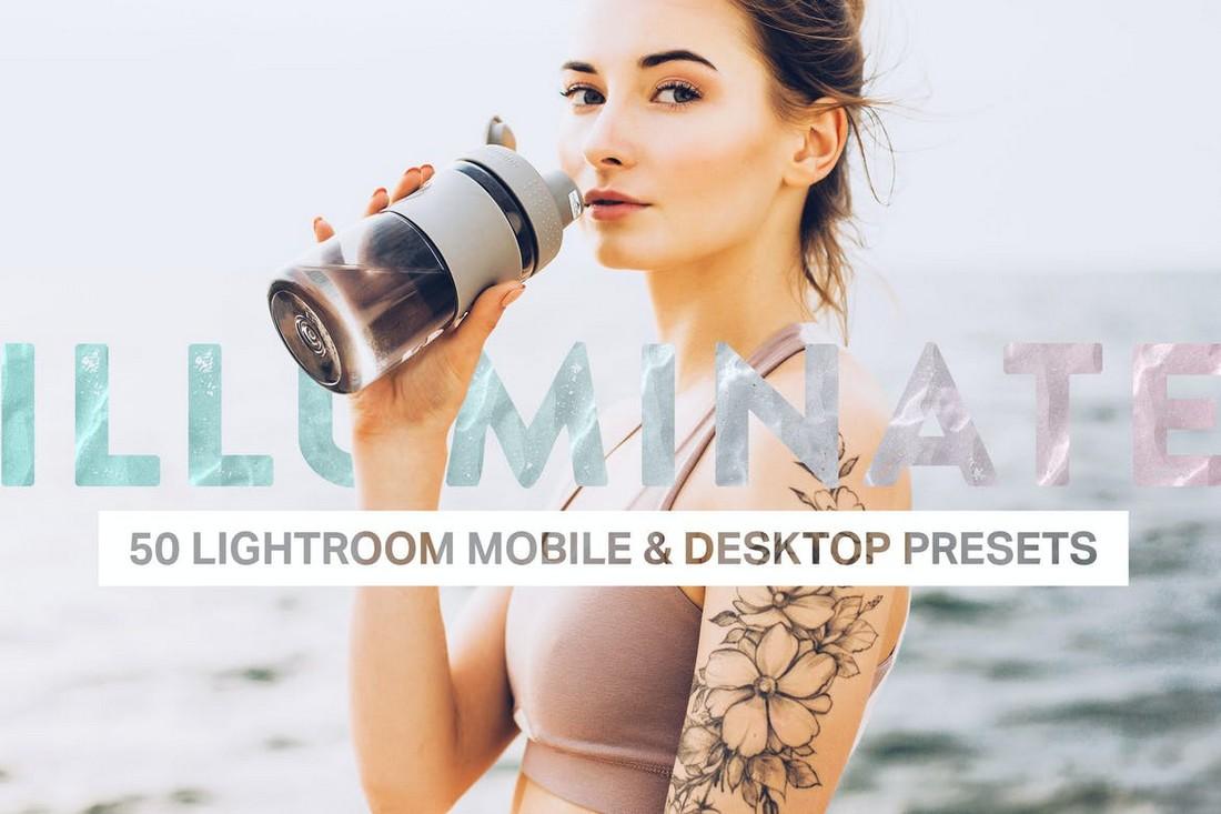 50 Illuminate Lightroom Presets and LUTs